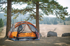 camping outdoors photo