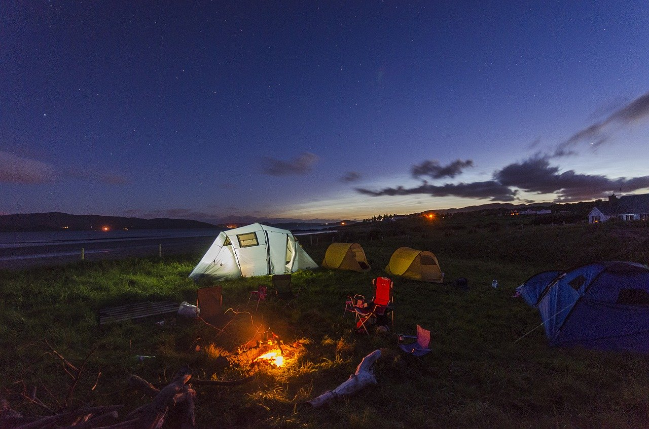 Camping outdoor photo